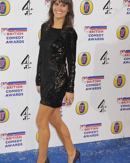 Nina Conti arrives at the British Comedy Awards at the Fountain Studios in London. Picture: Suzan/EM