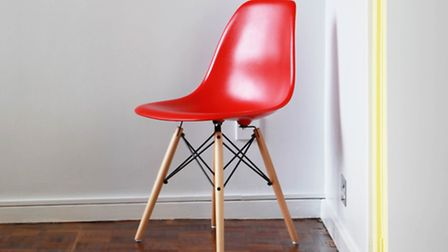 Many of the colour elements reference the designs of Charles and Ray Eames