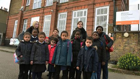 Parents and children upset over plans for the possible demolition of Whitmore Primary School in Hack