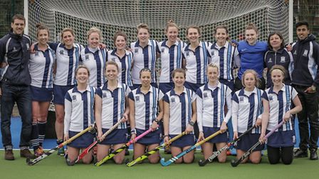 The Hampstead & Westminster's women's team. Pic: Mark Clews