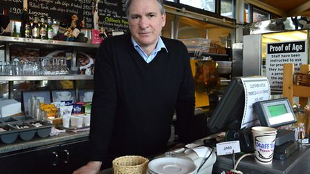 Golders Hill Park cafe owner Andrew Pazienti