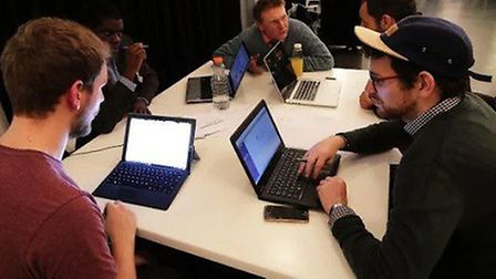 The Hackathon at the Hackney Law Centre