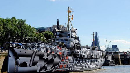 The company was based on HMS President on the River Thames, an incubator space for media start-ups