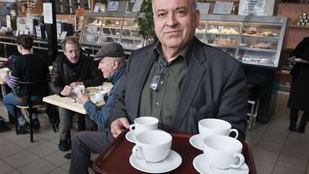 A petition has been launched to keep Alberto D'Auria running the Parliament Hill Cafe
