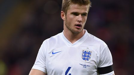 Eric Dier has been capped for England's senior team on two occasions so far in his career