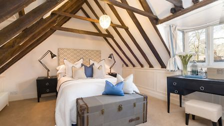 Parts of the house date back to 1666 and the exposed wooden beams give a lovely period feel to the m