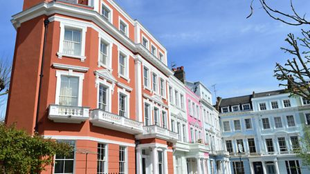 Primrose Hill's pastel-coloured houses attracted a raft of party-loving celebrities in the 90s and 0