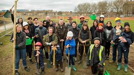 Green-fingered gardeners get planting on Mabley Green