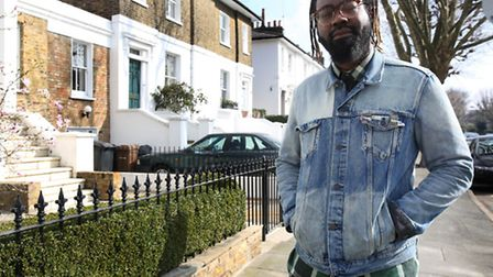 Rapper Mikill Pane who lives in Hackney