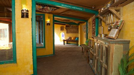 Visitors can walk alongside the lions and get a glimpse into the lives of the Sasan Gir villagers wh