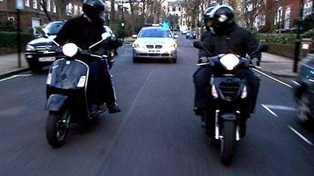 Police are cracking down on moped thefts
