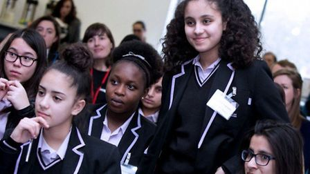 Guests at the Inspiring Young Hackney Women celebration