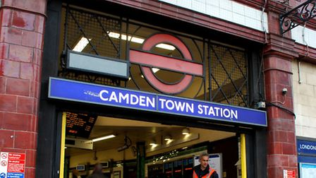 Camden Town Tube station Picture: Polly Hancock