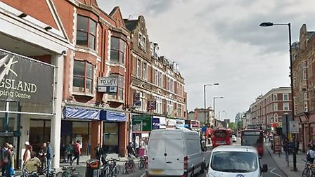 Kingsland High Street is one of the most affected areas