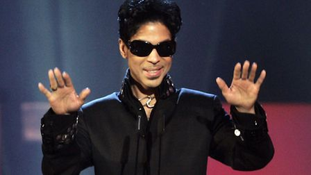 NovemberPrince at Alexandra Palace in 2006, being inducted into the UK Music Hall of Fame (PA)