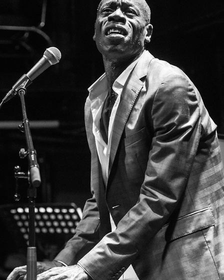 Souls singer Andrew Roachford performing at the Jazz Cafe's 25th anniversary event in December (Pict