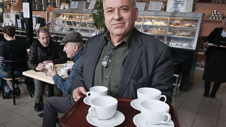 12,800 signed a petition to keep Alberto D'Auria running the Parliament Hill Cafe Picture: Nigel