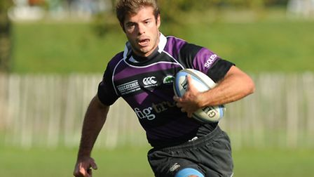 Mark Liebling scored three of Belsize Park's 11 tries. Pic: Paolo Minoli