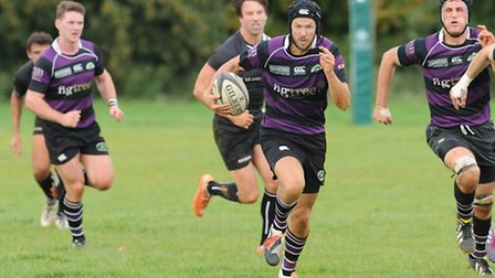 Jeremy Burton scored two tries and kicked eight conversions for Belsize Park. Pic: Paolo Minoli