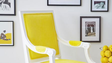 The Kae collection, Popping Yellow chair, also available in other colours, �485, available from The