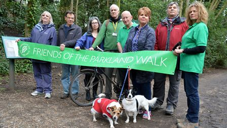 Friends of Parkland Walk voicing their concern for the proposal to allow construction vehicles acces