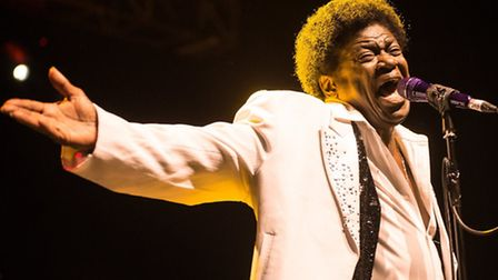 Charles Bradley performing at the o2 Forum Kentish Town (Picture: Dave Burke)