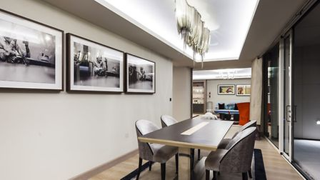 The �7.7 million residence includes 10 framed David bailey prints