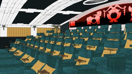 An artist's impression of what the renovated Castle Cinema could look like