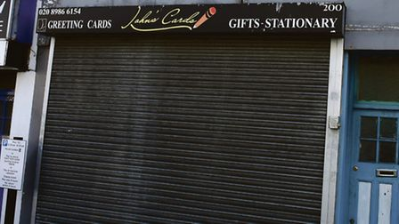 Johns Cards closed recently. Picture: Ken Mears