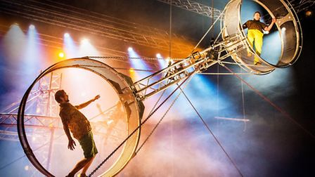Super Sunday was the first show at Circusfest at The Roundhouse. Picture: Petter Hellman