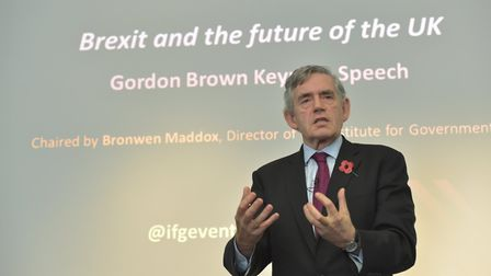 Gordon Brown believes there will be a second Brexit referendum