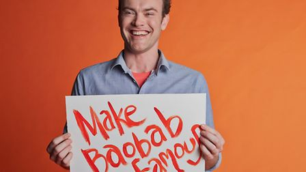 Andrew Hunt and his Make Baobab Famous campaign