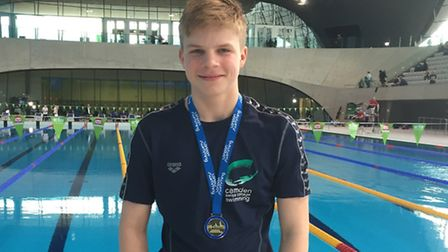 Camden Swiss Cottage's Alex Borisov won four gold medals and a silver at the London Regional Champio