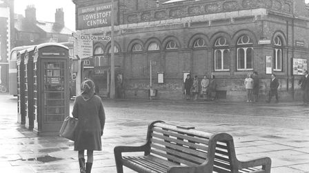 Lowestoft Railway Station in 1969. Picture: Archant Library