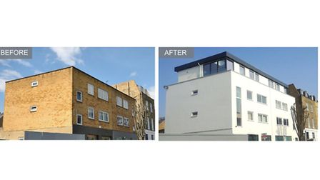 Wilmott Place, Camden, NW1, before and after, Apex Housing Solutions