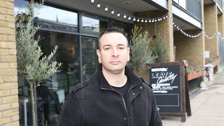 Joel Sanders had his comedy night sabotaged, because of a disupute between the two owners of the ve