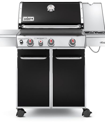 A Genesis E330 black barbecue could be yours!