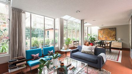 A house by Norman Foster and Richard Rogers' first practice is on the market for �1.6million