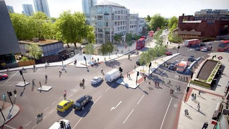 The proposed Cycle-Superhighway route will connect Swiss Cottage to Portland Place in the West End (