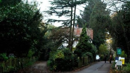 Campaigners claim the development of the proposed mansion will do irreperable damage to the narrow H