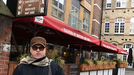Bar owner Paul Daly has been in Hoxton Square since 1988 and has seen it go from a dump to a booming