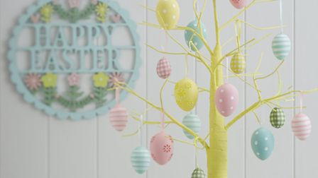 Yellow Easter Tree, £25, The Contemporary Home