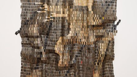Warrior by El Anatsui. Picture: Jonathan Greet