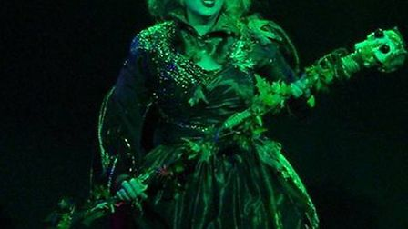 Judi Wheaton-Mars as Sorceress of the Forest in Robin Hood Prince of Sherwood, 2011. Picture: Courte