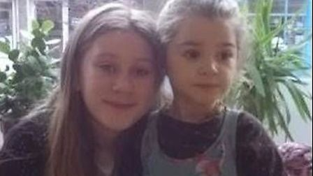 Police are appealing for information on the wherabouts of two young sisters who are believed to be i