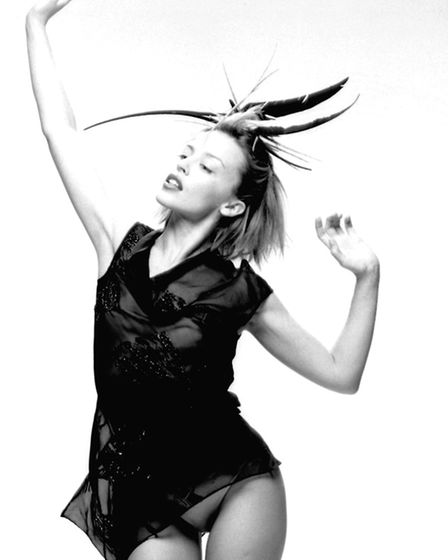 Kylie Minogue photo by Phil Knot