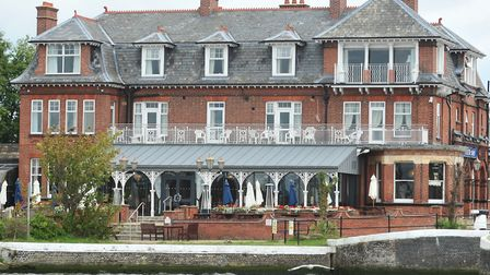 The Wherry hotel, Oulton Broad.