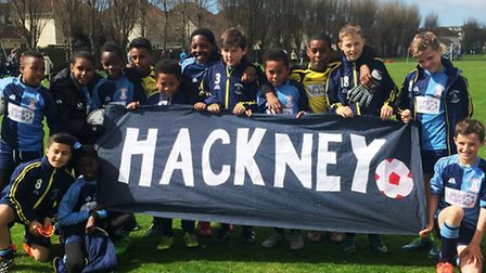 Hackney Under-11s at the Jersey Festival