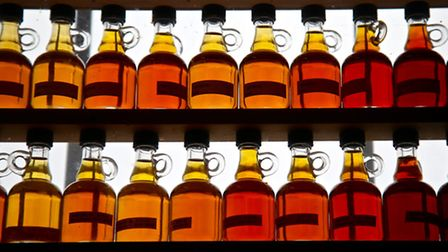 Canada's 'liquid gold' - maple syrup. Picture: Kerstin Rodgers