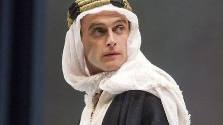 Jack Laskey as T.E. Lawrence. Picture: Alastair Muir